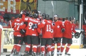 Deutschland unterliegt der Schweiz mit 2:3