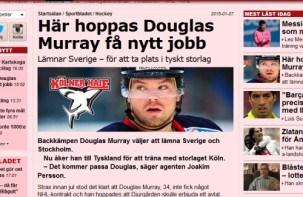 Douglas Murray heute in Köln eingetroffen