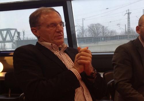 Ex-Haie-Geschäftsführer Lance Nethery. Foto: Steffen Thaut.