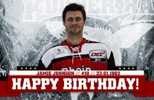 Happy Birthday, Jamie Johnson!