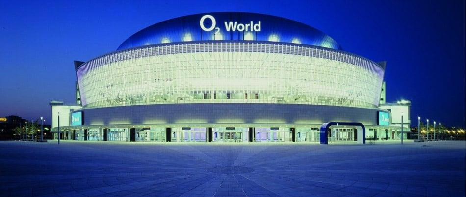 Die o2-World Berlin wird zur Mercedes Benz Arena. Foto: o2world-berlin.de