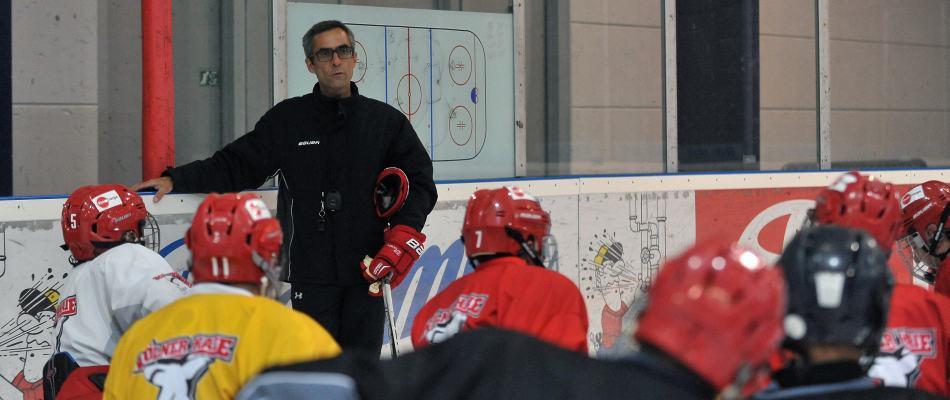 Rodion Pauels leitet das DNL-Training. Foto: Steffen Thaut