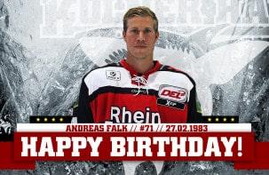 Happy Birthday Andreas Falk!