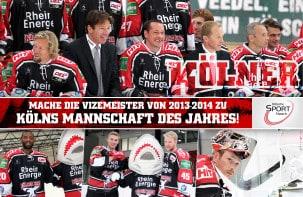 Wählt den KEC zu Kölns Mannschaft des Jahres 2014!