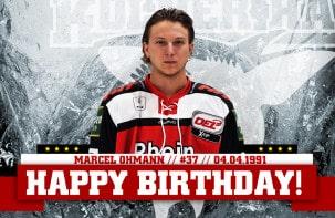 Happy Birthday Marcel Ohmann!