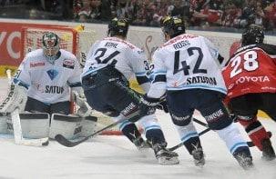 Haie lassen gegen Ingolstadt Punkte liegen