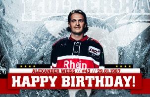 Happy Birthday Alexander Weiß!
