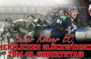 Herzlichen Glückwunsch, lieber KEC! Was sind eure Eishockeygeschichten?