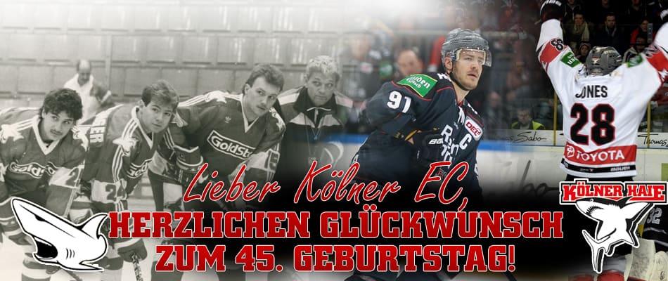 Herzlichen Glückwunsch zum Geburtstag, lieber Kölner EC!