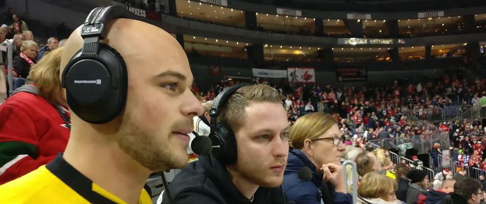 Mo-Torres mit Kommentator Max Giesen im haimspiel.de-Liveradio.