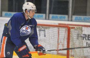 Leon Draisaitl mit den Edmonton Oilers für Freundschaftsspiel in Deutschland
