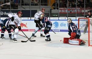 Punkt in München: Haie verlieren 1:2 nach Verlängerung