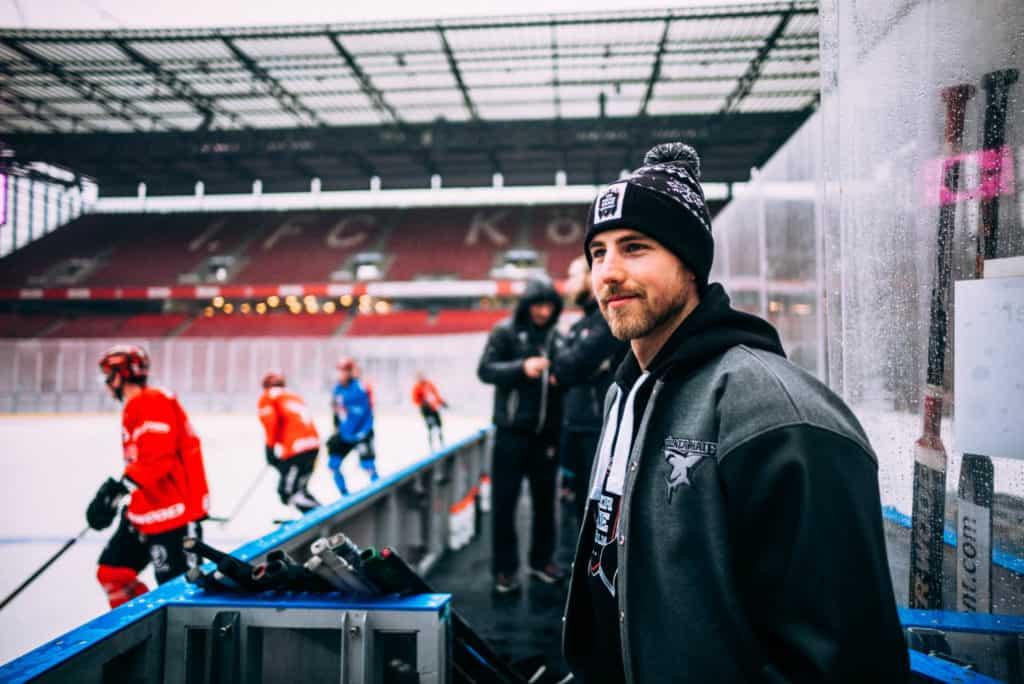 Pascal Zerressen musste beim DEL WINTERGAME 2019 zuschauen. Foto: Basti Sevastos.